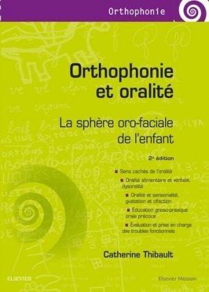 Orthophonie et oralité - elsevier / masson - 9782294748332 -