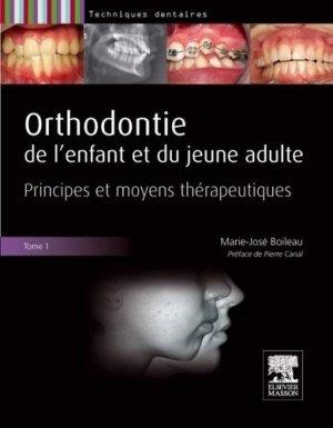 Orthodontie de l'enfant et du jeune adulte - Pack 2 tomes - elsevier / masson - 9782294754128 -