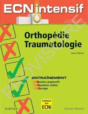 Orthopédie-Traumatologie - elsevier / masson - 9782294763540 - livre ecn 2020, livre ECNi 2021, collège pneumologie, ecn pilly, mikbook, majbook, unithèque ecn, college des enseignants, livre ecn sortie