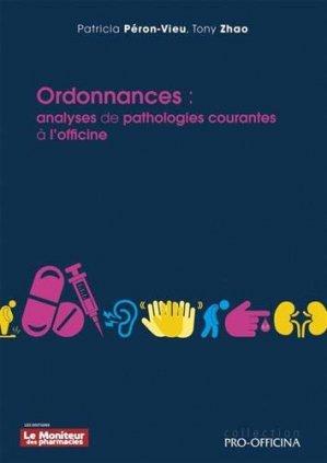 Ordonnances - Le Moniteur des pharmacies - 9782375190487 -