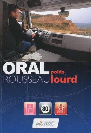 Oral Rousseau poids lourds - Codes Rousseau, SA - 9782709511445 -