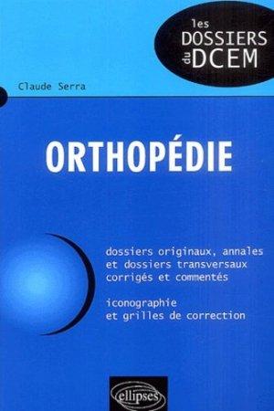 Orthopédie - ellipses - 9782729815639 -