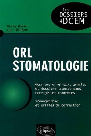 ORL - Stomatologie - ellipses - 9782729822156 -