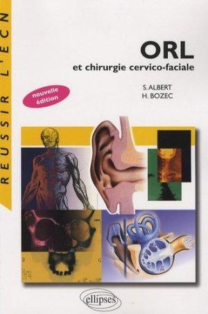 ORL et Chirurgie cervico-faciale - ellipses - 9782729833947 -