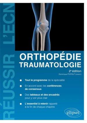 Orthopédie traumatologie - ellipses - 9782729871383 -