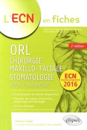 ORL, chirurgie maxillo-faciale et stomatologie - ellipses - 9782729881139 -