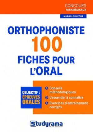Orthophoniste - studyrama - 9782759015702 - Pilli ecn, pilly 2020, pilly 2021, pilly feuilleter, pilliconsulter, pilly 27ème édition, pilly 28ème édition, livre ecn