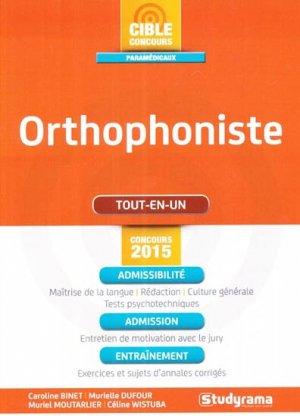 Orthophoniste - studyrama - 9782759026166