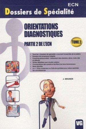 Orientations Diagnostiques Partie 2 de l'ECN - vernazobres grego - 9782818302064 -