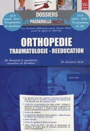 Orthopédie Traumatologie - Rééducation - vernazobres grego - 9782818310328 -