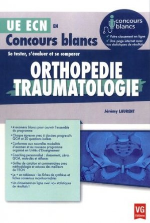 Orthopédie Traumatologie - vernazobres grego - 9782818314395 -