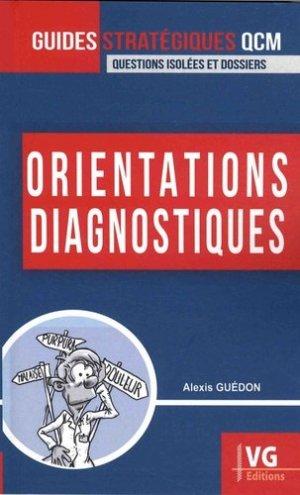 Orientations diagnostiques - vernazobres grego - 9782818316573 - rechargment cartouche, rechargement balistique
