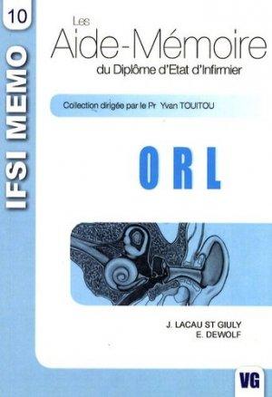 ORL - vernazobres grego - 9782841367917 -