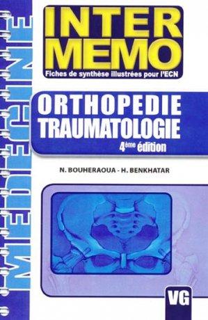Orthopédie Traumatologie - vernazobres grego - 9782841369447 -