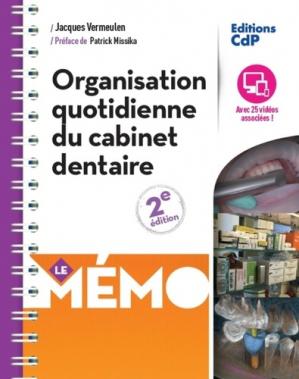Organisation quotidienne du cabinet dentaire - cdp - 9782843613234 -