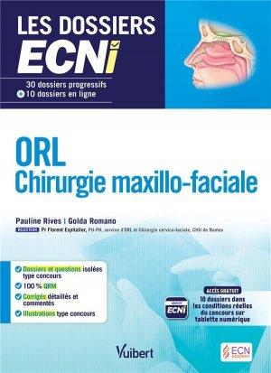 ORL Chirurgie maxillo-faciale - estem / vuibert - 9782843718526 -
