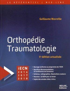 Orthopédie Traumatologie - med-line - 9782846781572 -