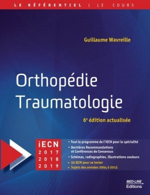 Orthopédie Traumatologie-med-line-9782846781893