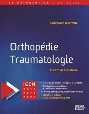 Orthopédie Traumatologie - med-line - 9782846782227 -