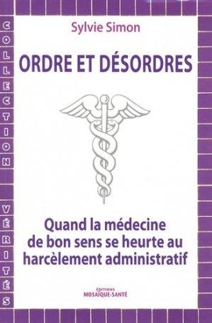 Ordre et désordres - mosaique sante - 9782849390726 -