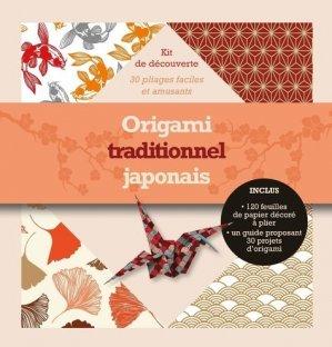 Origami traditionnel japonais - synchronique  - 9782917738986 -