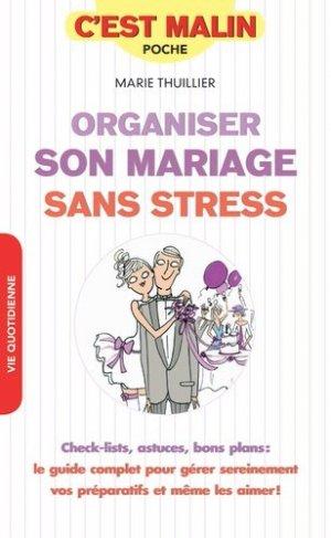Organiser son mariage sans stress - leduc - 9791028509507 -