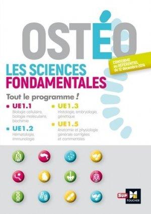Ostéo Les sciences fondamentales - foucher - 9782216146703 -