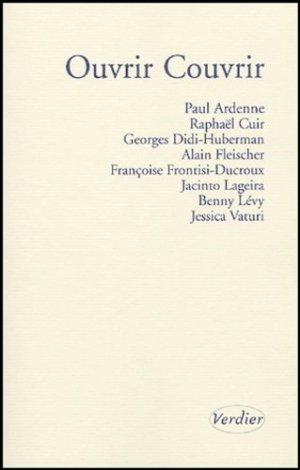 Ouvrir Couvrir - Editions Verdier - 9782864324263 -