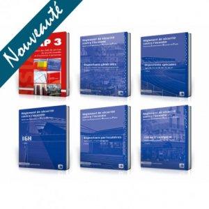 PACK SSIAP 3 PREMIUM + : 6 ouvrages * Réglementation commentée - france selection - 2224754991652 -