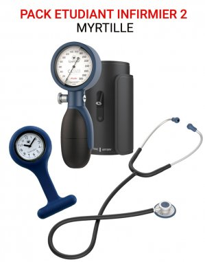 Pack Étudiant Infirmier 2 Myrtille - spengler holtex  - 2225638935564 -
