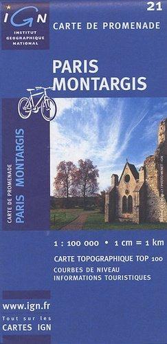 Paris - Montargis - ign - 3282111002136 -