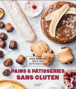 Pâtisseries et pains sans gluten - hachette - 9782017020400 -