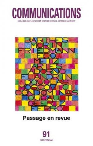 Passage en revue - du seuil - 9782021064261 -