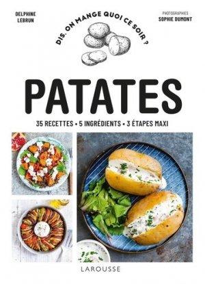 Patates - Larousse - 9782036006089 -