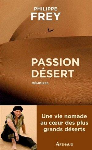 Passion désert - Flammarion - 9782081292925 -
