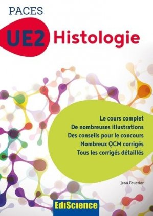 PACES UE2 Histologie - ediscience - 9782100763283 -