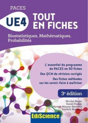 PACES UE4 Tout en fiches - ediscience - 9782100777983 -