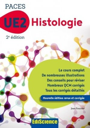 PACES UE2 Histologie - ediscience - 9782100794225 -