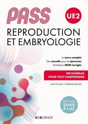 PASS UE2 Reproduction et Embryologie - ediscience - 9782100809844 -