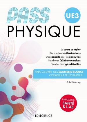PASS UE3 Physique - Manuel : cours + entraînements - ediscience - 9782100811977 -