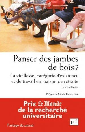 panser des jambes de bois? - puf - presses universitaires de france - 9782130635277 -