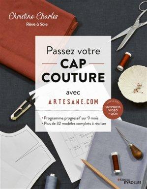 Passez votre CAP couture avec Artesane - eyrolles - 9782212677522 -