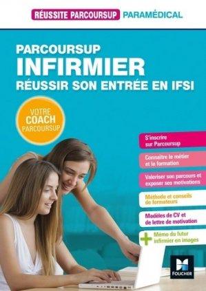 Parcoursup infirmier - foucher - 9782216153459 -