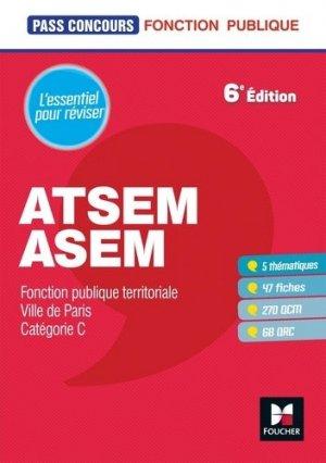 Pass'Concours ATSEM/ASEM - foucher - 9782216154173 -
