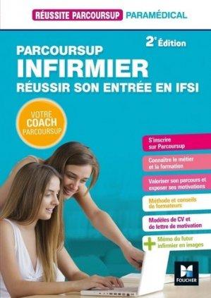 Parcoursup Infirmier Réussir son entrée en IFSI - foucher - 9782216156191 -