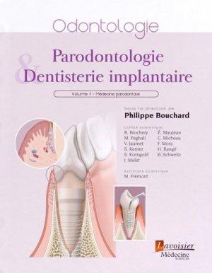 Parodontologie et dentisterie implantaire - lavoisier msp - 9782257205551 -
