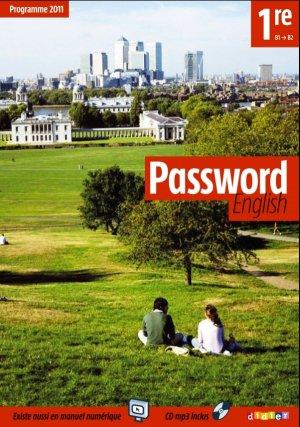 Password English 1re : 1 Livre et 1 CD MP3 - Didier - 9782278069347 -