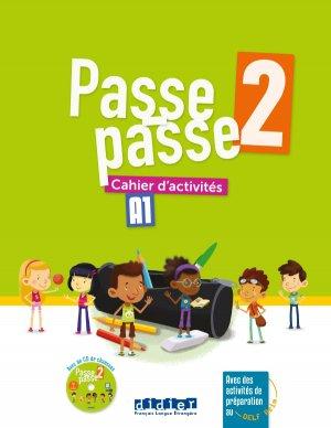 Passe-Passe niv. 2 - Cahier + CD - didier - 9782278087228 -