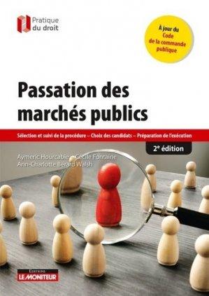 Passation des marchés publics - le moniteur - 9782281133707 -