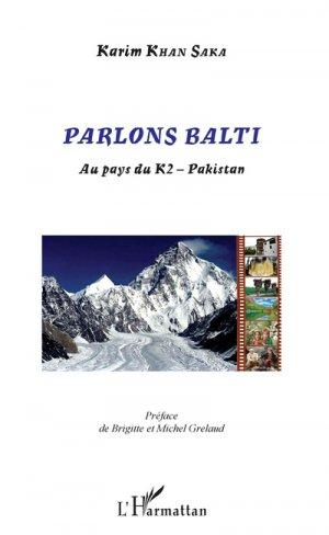 Parlons Balti - l'harmattan - 9782343169620